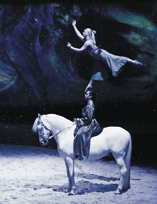 Cavalia White Big Top