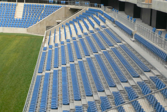 le havre fc stadium and arena seating the box seat. Black Bedroom Furniture Sets. Home Design Ideas