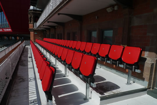 Lancashire County Cricket Club | Stadium and arena seating | The Box