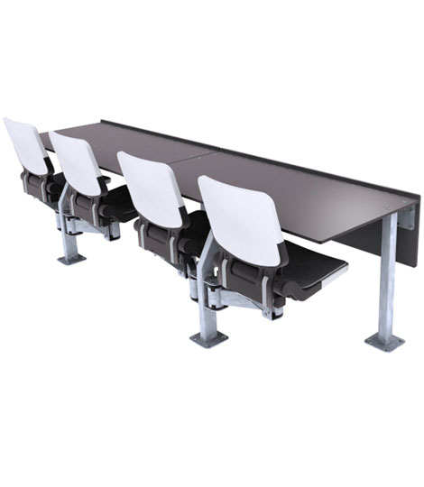 Swingseat Press Table