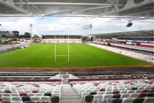 South Stand - Ravenhill Stadium